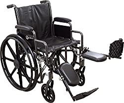 "Roscoe Medical - K7-lite Wheelchair (22"" With Elevating Legrests) - Cm"