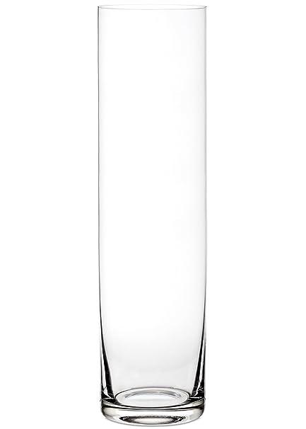 Amazon Portofino Clear Glass Cylinder Floor Vase 24 Tall X 6