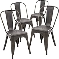 Metal Kitchen Chairs With Cushions Winda 7 Furniture