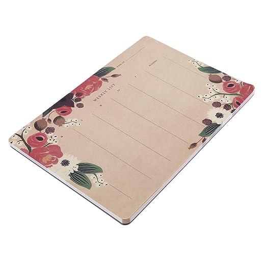 Faliya - Planificador semanal de Escritorio, Notas, Cuaderno ...