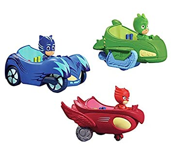 New 3 Pieces PJ Masks Big Cars Toy Figures For Kids - Nuevo 3 piezas PJ