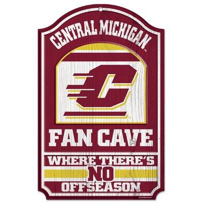 WinCraft NCAA Central Michigan University Wood Sign, 11