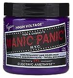 permament Manic Panic Semi-Permament Haircolor Electric Amethyst 4oz (2 Pack)