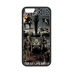 Iron Maiden iPhone 6s 4.7 Inch Cell Phone Case Black Customized Gift pxr006_5327648