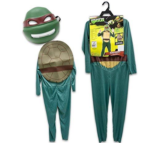 Teenege Mutant Ninja Turtles Costume Children's Medium - Raphael (Ninja Turtles Halloween Costumes)
