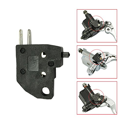 Motorcycle Left side Hydraulic Clutch Front Brake Master Cylinder Light Stop Switch Kit For Honda Goldwing GL1500 GL1200 PC800