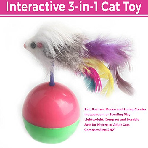 Interactive Feather Tumbler Training Supplies product image