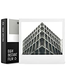 "Impossible Project 9120066085191 Polaroid Film Spectra B&W, White, 1"""
