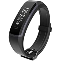 Seegar Fitness Tracker, Waterproof Activity Tracker with Heart Rate Step Counter Watch Bluetooth Pedometer and Sleep Monitor Calorie Counter Watch, Slim Smart Bracelet for Kids Women and Men