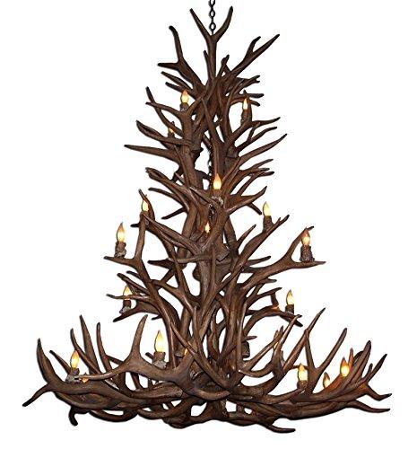 deer horn ceiling fans - 8