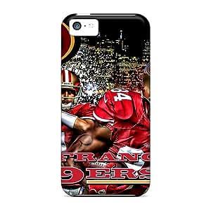 Cute Appearance Cover/tpu TJi3415BIlf San Francisco 49ers Case For Iphone 5c