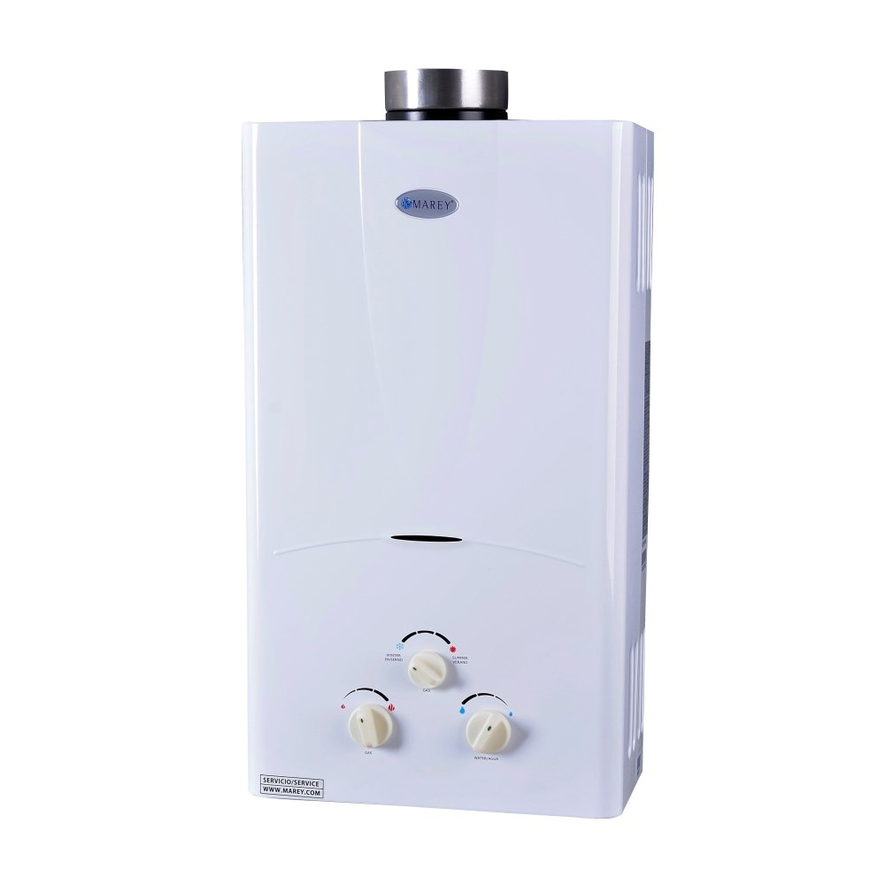 Marey Power Gas 10L 3.1 GPM Propane Gas Tankless Water Heater by MAREY (Image #1)