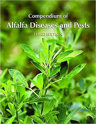 Book Compendium of Alfalfa Diseases and Pests, Third Edition