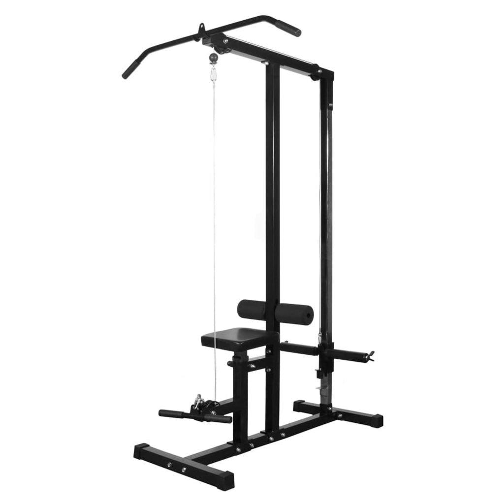 Fitness Gerät ohne Gewicht Gesamtgröße 182 x 160 x 194 cm (L x B x H)