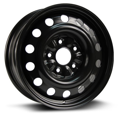RTX, Steel Rim, New Aftermarket Wheel, 16X6.5, 5X127, 71.5, 40, black finish X45521