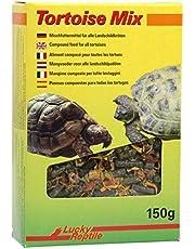 Lucky Reptile Tortoise Mix 150 g, pelletmengsel van weidekruiden, voeder voor landschildpadden