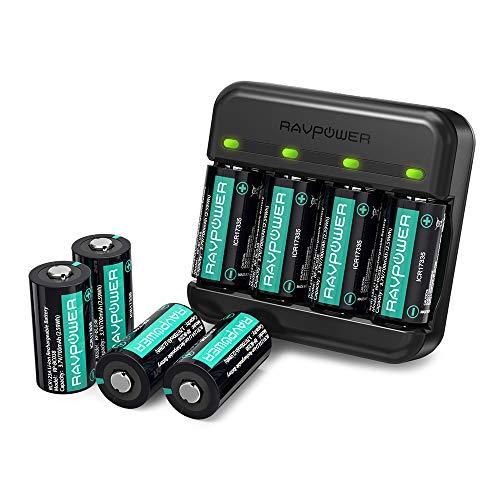 CR123A Lithium Batteries RAVPower