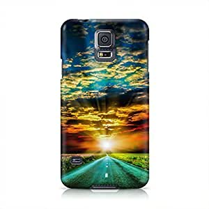 Road Hard Plastic Snap-On Case For Samsung Galaxy S5