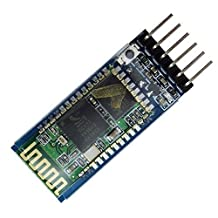 uniquegoods Wireless Bluetooth Host Serial Transceiver Module Slave and Master RS232 For Arduino HC-05