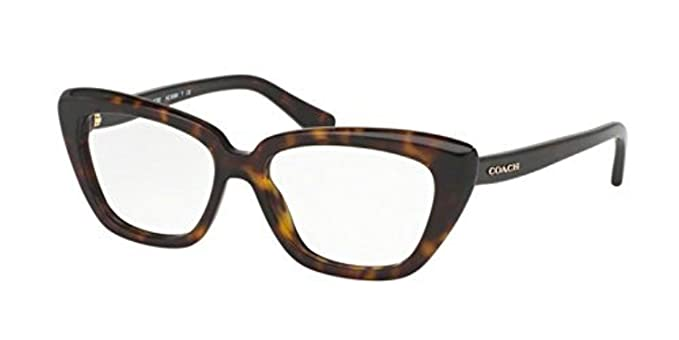 Coach Women\'s HC6090 Eyeglasses Dark Tortoise 52mm at Amazon Women\'s ...