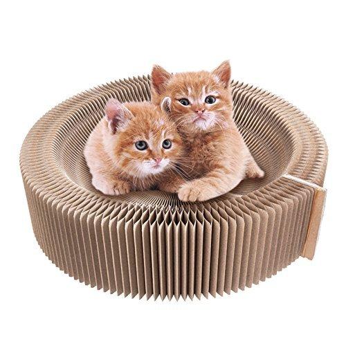 Aoonux 고양이 분명히 해다고 # 손톱과 # 조(칼 따위를) 갊 베드 골판지 묘용소파 침상 접는식 스트레스 해소 양면 모두 쓸만한 인기