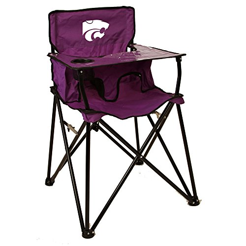 Rivalry Distributing RIV-RV236-1700 Kansas State Wildcats NCAA Ultimate Travel Child High Chair by Rivalry Distributing