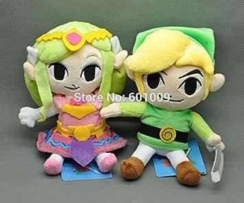 Amazon.com: 2pcs nuevo Legend Of Zelda Plush Doll de peluche ...