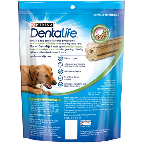 Purina Dentalife Daily Oral Care Dog Treats