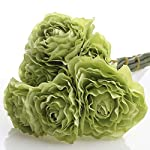Factory-Direct-Craft-Group-of-3-Artificial-Spring-Green-Ranunculus-Silk-Flower-Bouquets-for-Arranging-Crafting-and-Decorating