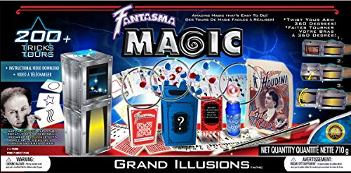 Fantasma Complete Grand Illusions Magic Set - Over 200+ Tricks Kit
