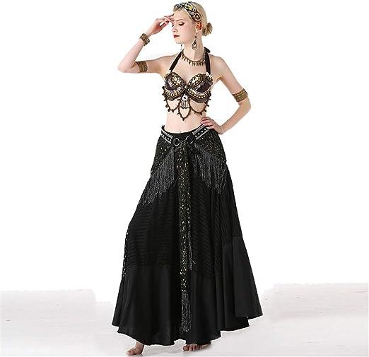 Disfraz de danza del vientre Falda de danza del vientre Disfraz de ...
