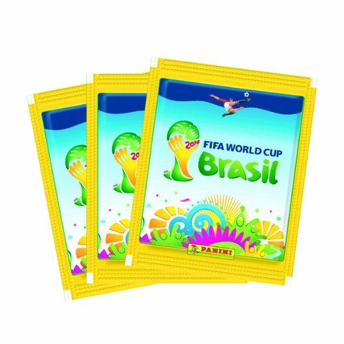PANINI BRAZIL STICKERS Packs Brasil