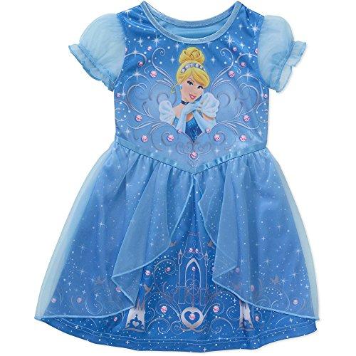 Cinderella Toddler Sleeve Fantasy Nightgown