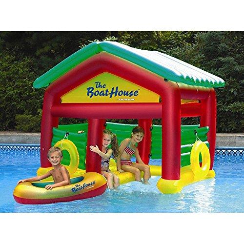 Swimline Boathouse Floating Habitat (Inground Pool Accessories)