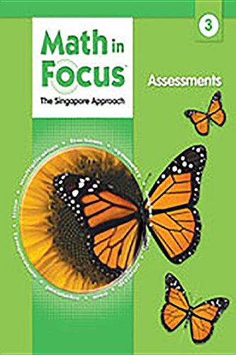 Math in Focus Grade 3 Assessments (Singapore Math)