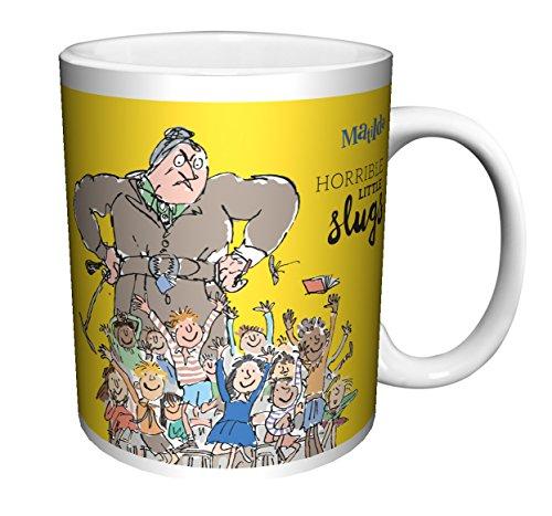 Roald Dahl MATILDA QUOTE TRUNCHBULL HORRIBLE LITTLE SLUGS Classic Literature Book Ceramic Gift Coffee Tea Cocoa Mug (11 C-HANDLE CERAMIC MUG)