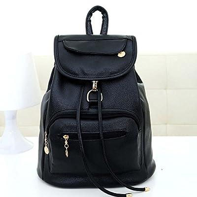 BOAOGOS Daypacks Occasionnels Vêtements Femme Sac cuir synthétique de haute qualité sacs d'école pour les adolescents filles Top-traiter à dos Sacs de voyage