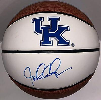 John Calipari Autographed Signed Autographed Kentucky Wildcats Logo Basketball PSA/DNA