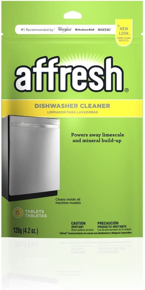 B002R0DXQE Affresh W10282479 Dishwasher Cleaner, 1 Pack 51ZRy-0UKvL
