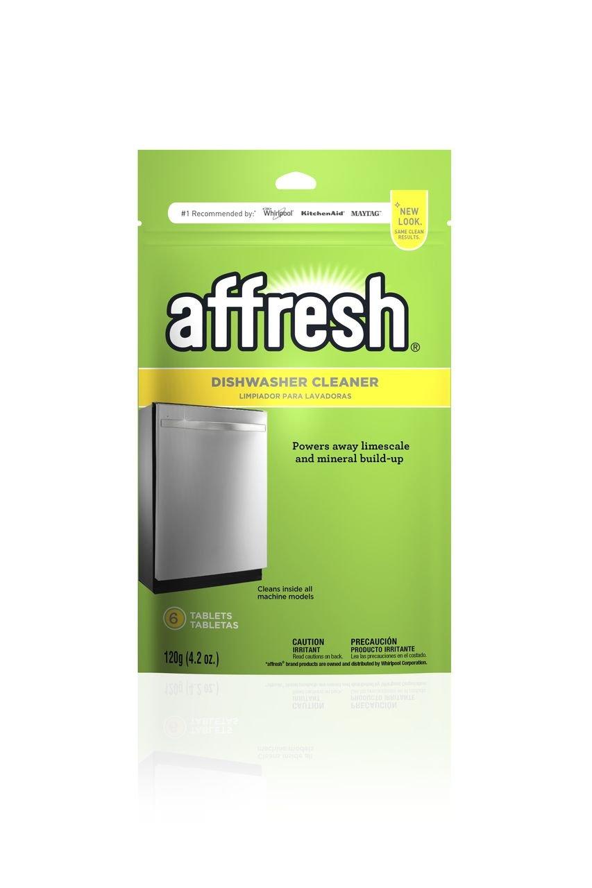 Affresh Dishwasher Cleaner Tablets, 6 Count (6 Pack)