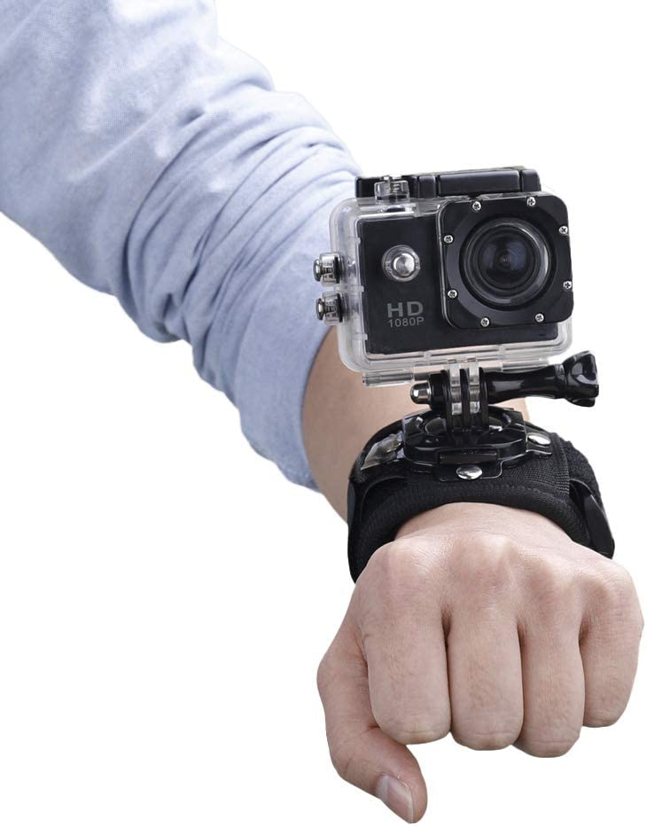 Wrist Strap Fixed Mount Adapter Holder for DJI Osmo Pocket Gimbal for GoPro Sport Action Camera Camera Gimbal Accessories HUAYE