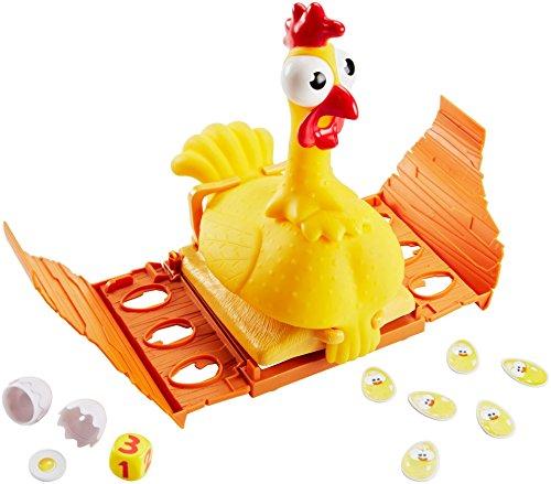 Mattel Games FRL48 - Gack Gack lustiges Hühnerspiel und Kinderspiel geeignet für 2 - 4 Spieler, Kinderspiele ab 5 Jahren 3
