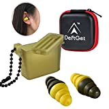 Ear Plugs High Fidelity livemusic Earplugs / 2-in-1 Noise Cancell earbuds Shooting Protectors / Protection For Shooters / Construction / Sleeping / Concerts by deftget
