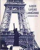 Langue et Langage, Pucciani, Oreste, 0030040426