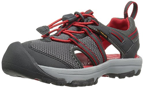 Teva Boys' T Manatee Sport Sandal, Charcoal Grey, 10 M US Toddler (Sandals Mesh Teva)