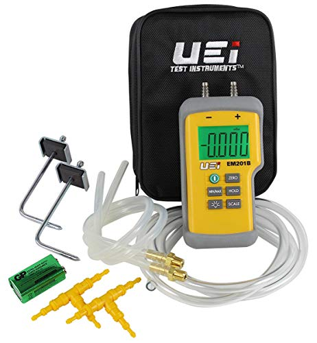 UEi Test Instruments Em201Spkit Static Pressure Kit ()