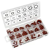 Performance Tool W5239 Brown 9mm-20mm Viton O-Ring Assortment (Polymer Viton, 18 sizes 180 Pieces)