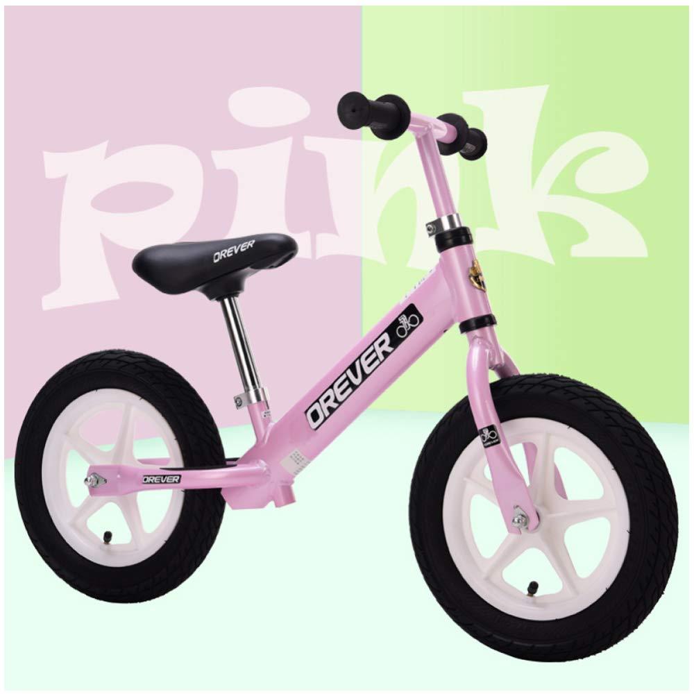 CHRISTMAD Kein Pedal Design Kids Balance Bike, Leichtes Baby-Bike Für Alter Von 18 Monaten Bis 5 Jahren, Gewichtsbelastung Bis Zu 110,2 Kg Mit Elastizität, Pneumatisches Rad,F