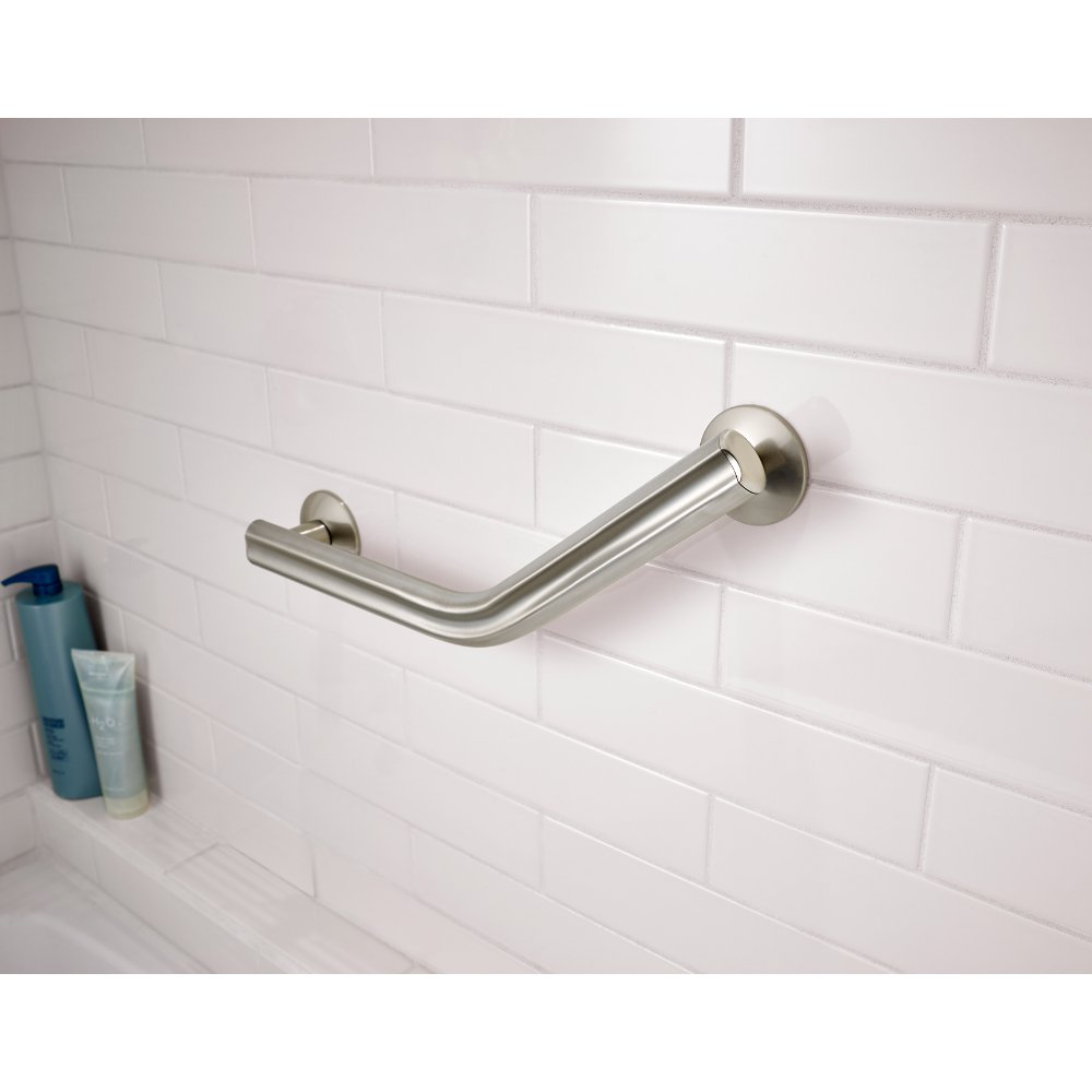 Amazon.com: Delta DAS5316-SN Bathroom Shower Safety Grab Bar with 16