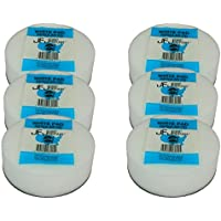 6 Pack Original JFJ White Pads for JFJ Single/Double Arm Machines
